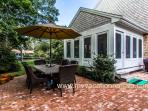 Patio Dining off of Screened Porch