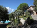 Casa Trinità with the pool