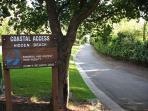 Hidden Beach Park with Beach Access