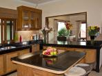 Phuket Luxury Villa Rental - Villa Oriole - Large European Kitchen with breakfast bar