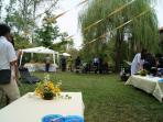 matrimonio nel giardino