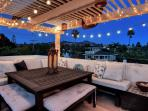 Watch the sunset from this magical rooftop haven. First photo is from this spot!