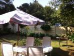 Tambotie's private garden