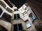 cour renaissance de l'immeuble