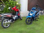 Two motor cycles are available for use by guests. (licence required)