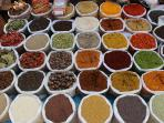 Margao Market - Spices galore