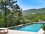Casa Ospicchio: beautiful pool area