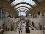 Quai d'Orsay Museum (my favourite) 10 minute bus ride from your front door.