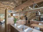 Kitchen area ..