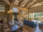 Dining Room- Livingroom in one plan ..