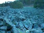'Río de piedra'