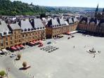 La superbe Place Ducale Charleville mezieres