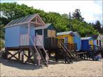 Beach huts on Wells beach