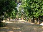 Nearby Villa Lazzaroni with playground for children