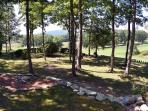 Back Yard View From Deck