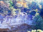 Ozone Falls Rapelling - 3 miles from cabin