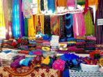 Hand printed garments at the shacks along Cavelossim Village