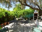 Barbacoa patio interior