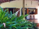 Main Terrace for breakfast