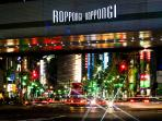Roppongi Crossing, 4 minutes walk from the apartment!