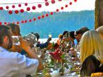 Wedding Celebration and Toasting to Ref. 74