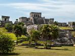 The Mayan Ruins in the backyard