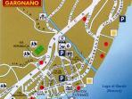 Gargnano City Map around the house    Gargnano Stadtplan um das Haus
