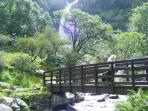 Bridge at Aber Falls