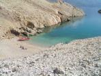 Island Pag beach only for you 10 min. by boat