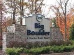 Entrance of Big Boulder Resort