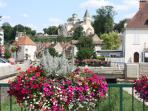 Nearby market town of Chatillon sur Seine