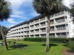 Ocean Front side of Building