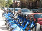 Take a ride on a Citibike