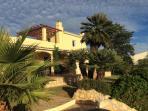 Villa set in tropical gardens