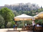 Athens: Acropolis (north slope)