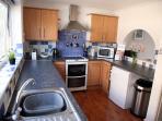 Bright & airy clean kitchen