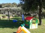 spazio giochi per i piccoli