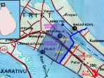 Google Map of Kilali for tourists