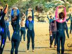 Surf Marokko - Warm machen