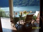Villa sleeps 8 has 3 Balconys 5 bedrooms 3.5 bathrooms parking free WIFI ,towels ,linens and dock