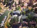 Ariel View of our lake front community.