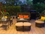 Many seating areas on the huge Lanai! BBQ is available for your convenience!