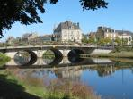 Pontivy a town of character on the Blavet River 10 kms away