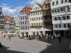 Ratplatz Tübingen / Town square in Tübingen