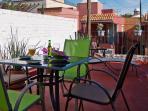 Rooftop terrace (wheelchair unaccesible)