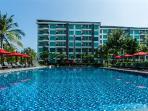 Amari Residences swimming pool