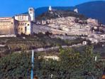 Assisi veduta panoramica