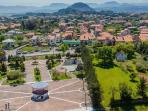 Vista aérea de la Villa de Argoños.