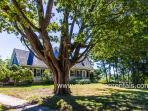 Front of Arrowhead Farm House