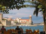 The beach is less than an hour away & Collioure just one of many daytrips to be enjoyed.